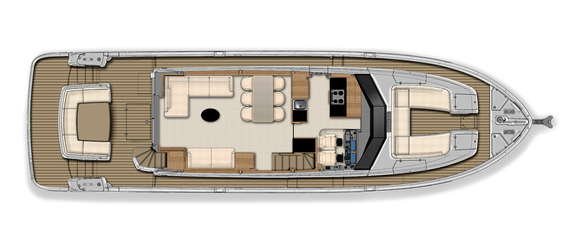 Main deck (version Navetta)